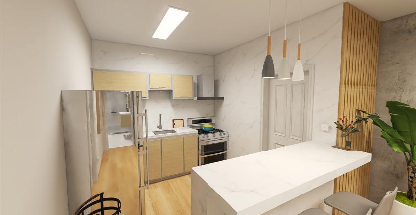 Projeto Deveza Apt Interior Design Render