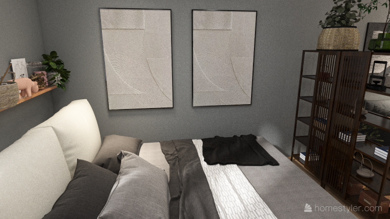 Pueyrredón Gris Interior Design Render