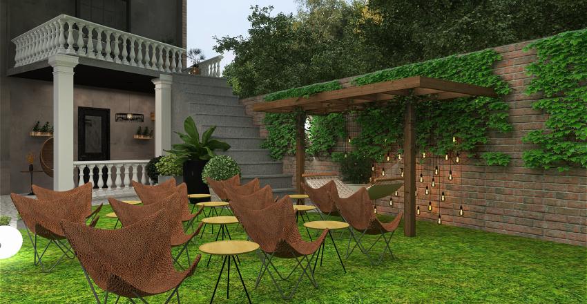 Curte_Romulus Interior Design Render