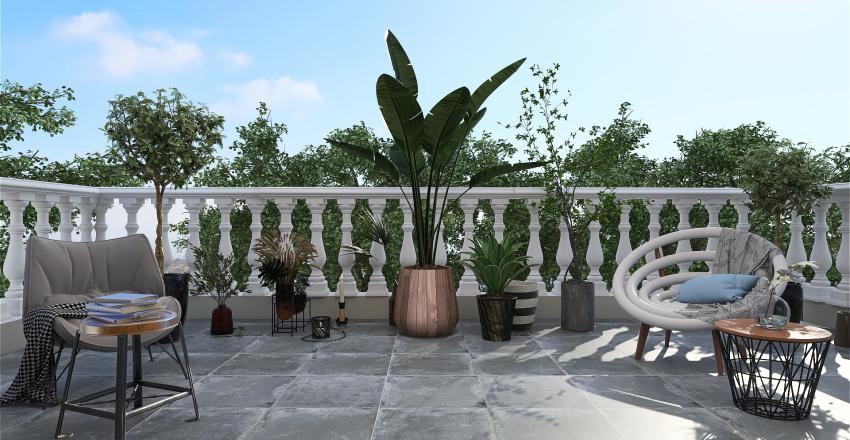 Casa Romulus Mansarda Interior Design Render