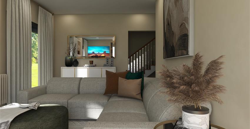 v2_living room Interior Design Render
