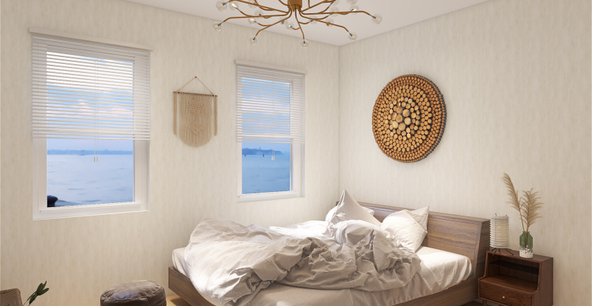 Seaside Interior Design Render