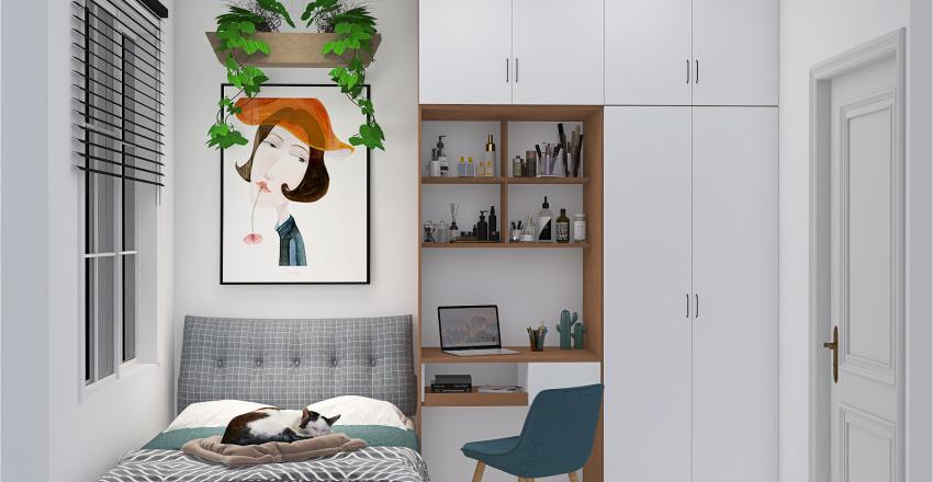 LITTLE BEDROOM 6m² Interior Design Render