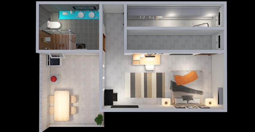 Casa - Segundo andar (Floor 2) Interior Design Render