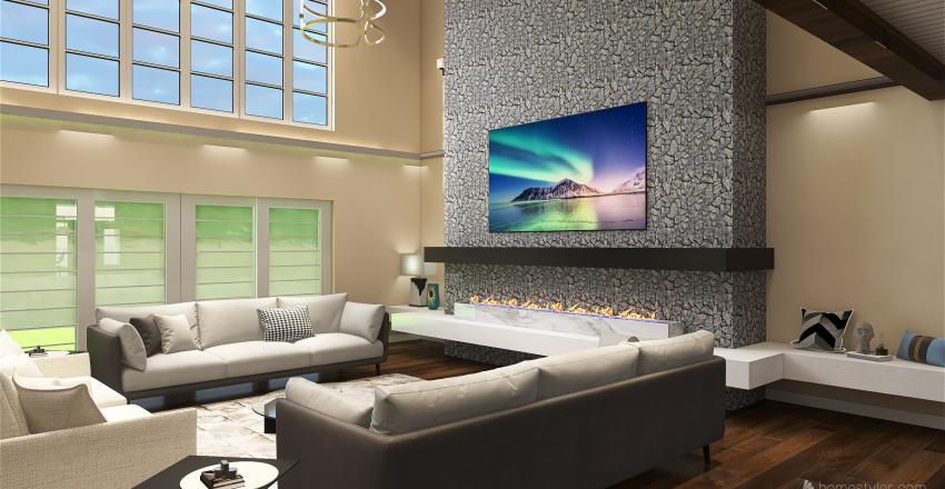 Kamry's Dream House Interior Design Render