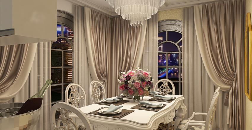 2- Storey Villa Apartment Interior Design Render