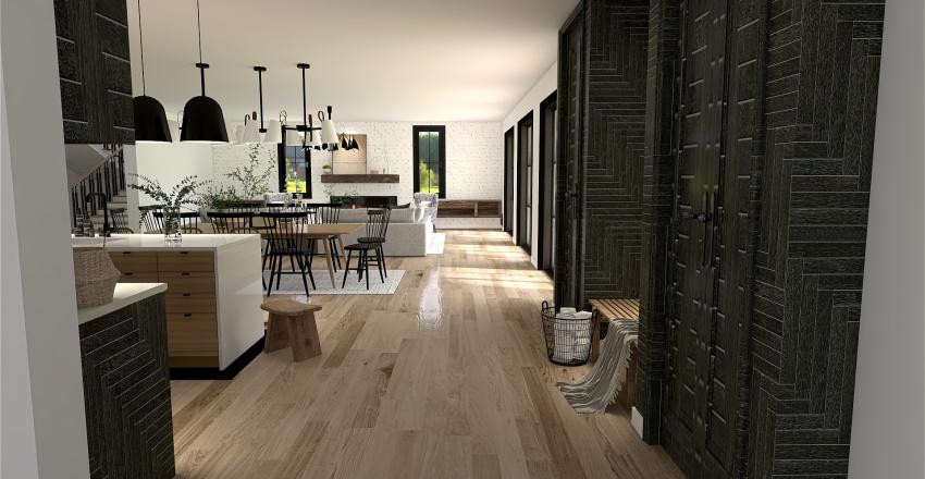  OLD-WORLD MODERN  Interior Design Render