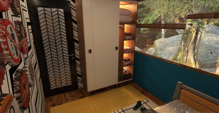 On the rocks Interior Design Render