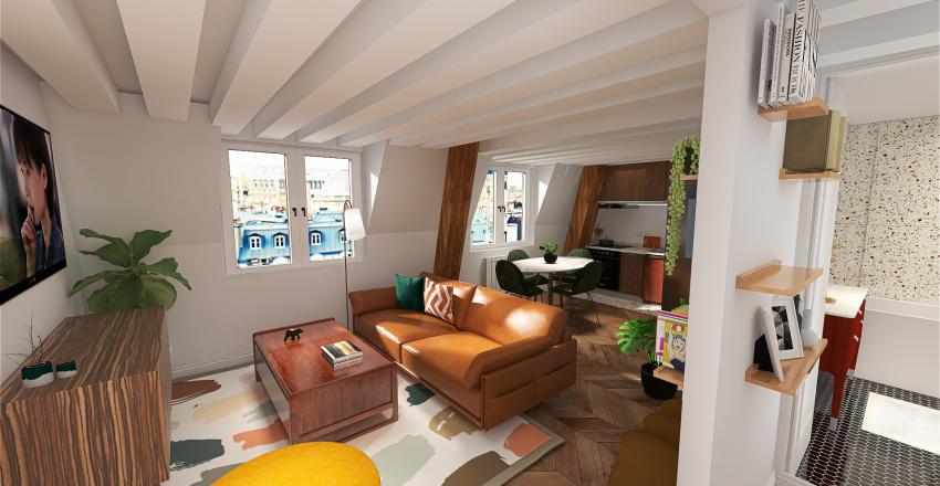 AUTRE OPTION ENTREE  Plans Miromesnils Interior Design Render
