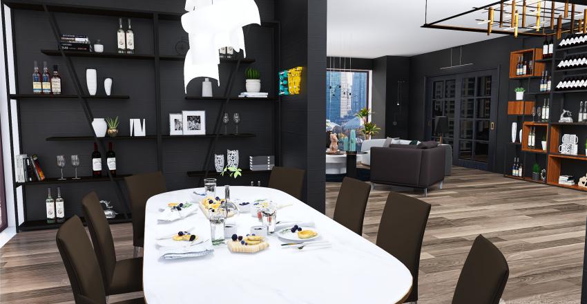 NYC modern house Interior Design Render