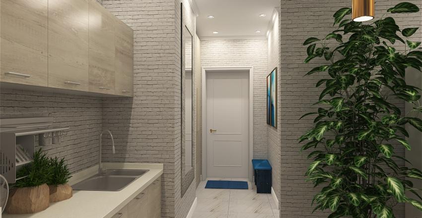 Одинцово. Перепланировка. Interior Design Render