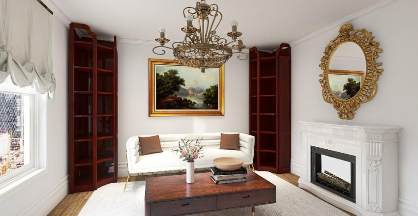 duplex apartment Interior Design Render