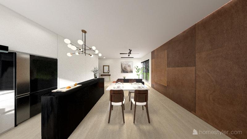 7 Rivervale Link Condo Interior Design Render