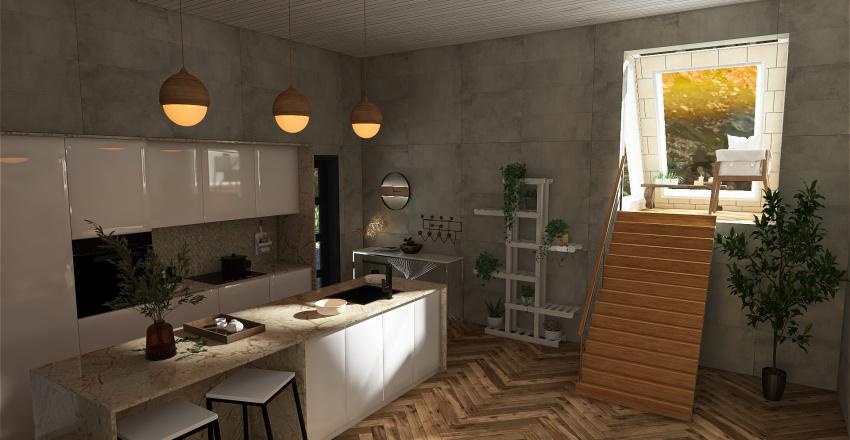 Casa en los montes Interior Design Render
