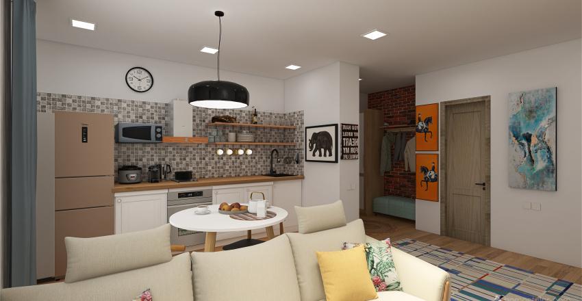 Minsk Levada Interior Design Render