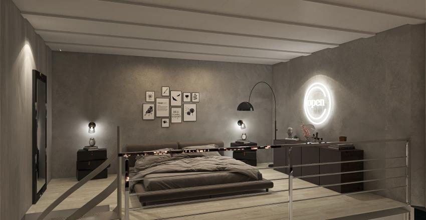 Render loft  Interior Design Render
