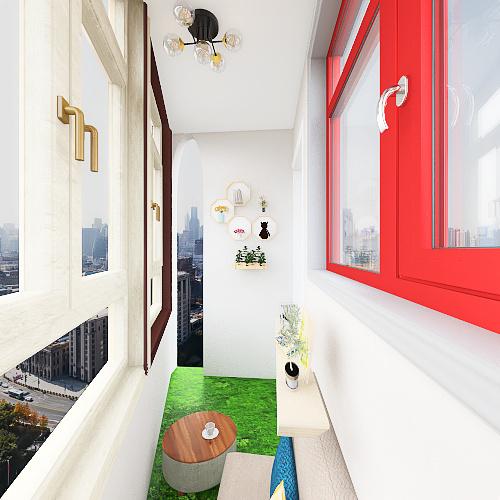 Small Ballacon Interior Design Render