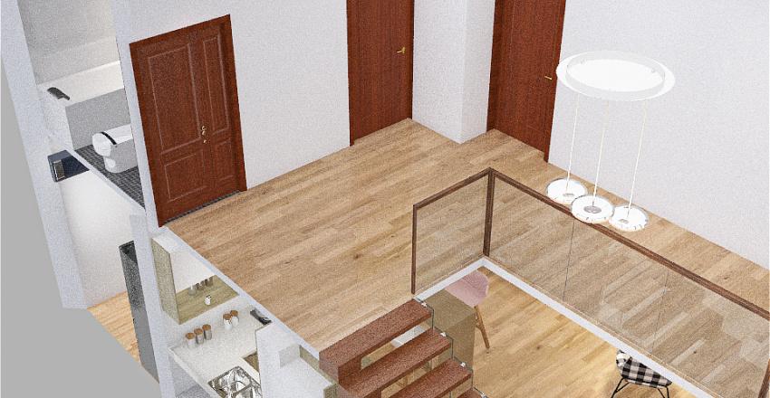 vivienda unifamiliar  Interior Design Render