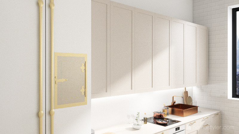 Room 3 - Honey home Interior Design Render