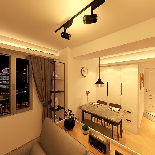 8A4 First Design Scheme Interior Design Render