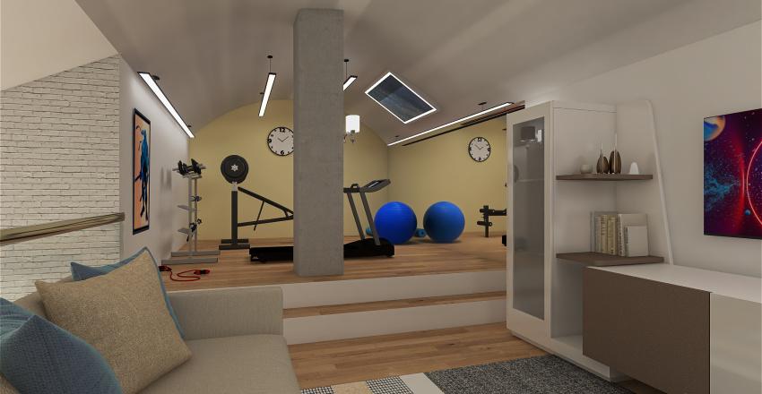 VIA PIO VII Interior Design Render