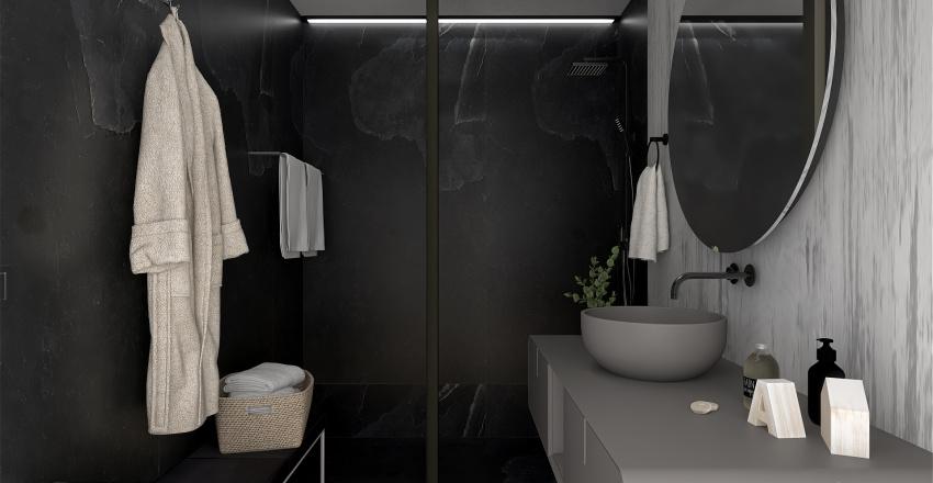 Modern Boy's Suite Interior Design Render