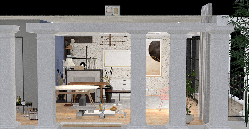 Atenas Coffey Interior Design Render