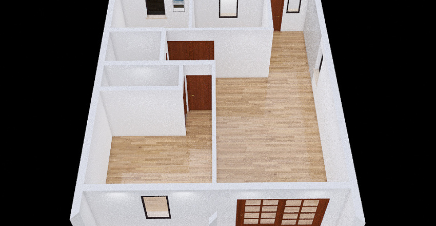 Dodo's home Interior Design Render
