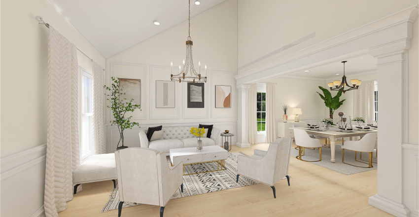 Hexam Interior Design Render