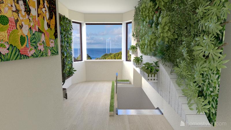 sus house (trust me it looks better in the inside) Interior Design Render
