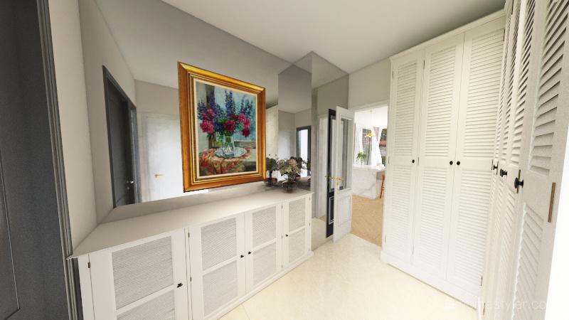 Dom aktualna wersja Interior Design Render