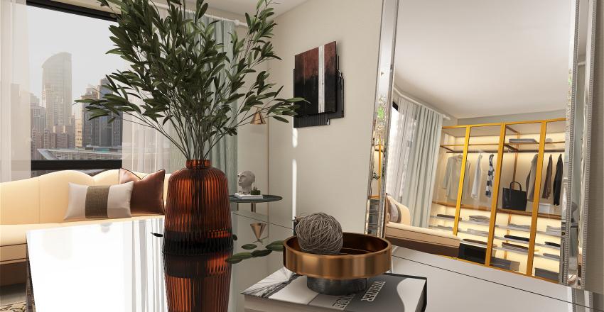 closet Interior Design Render