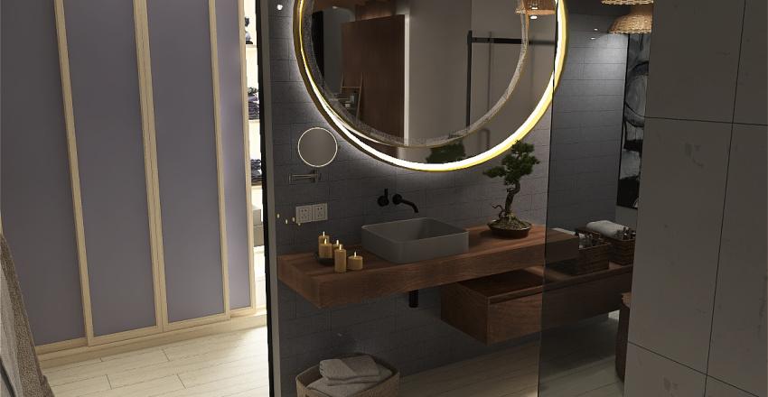 Master Bath Zen Style Interior Interior Design Render