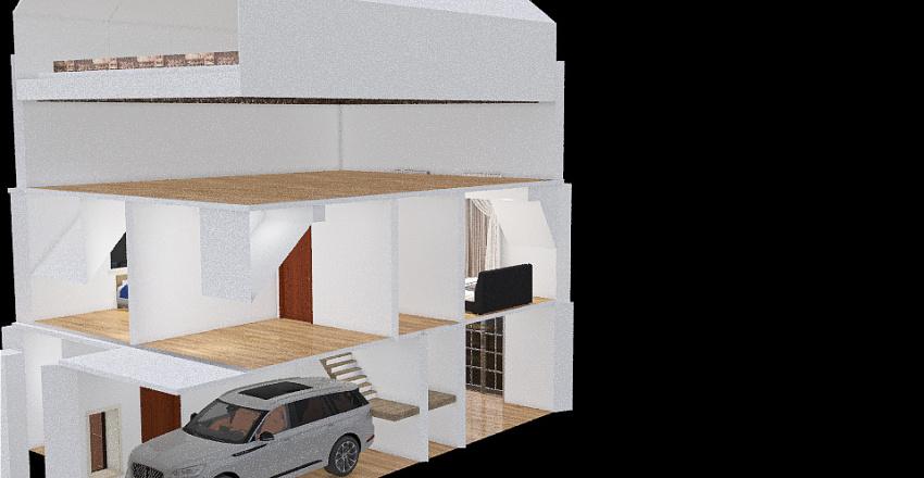 DOM Stefanowo Interior Design Render