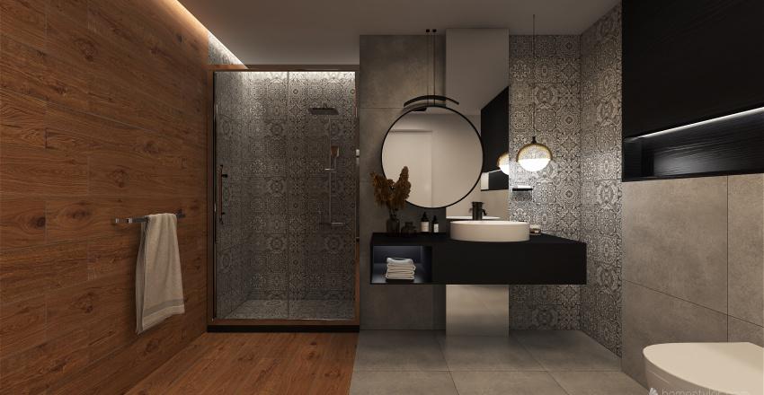 Łazienka - wersja 1 Interior Design Render