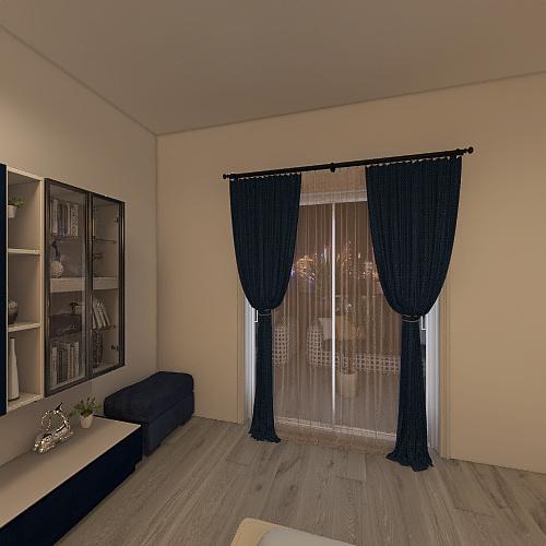 Terciopelo en diseño interior Interior Design Render