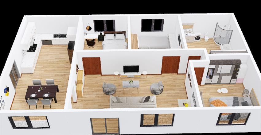 B.S. House Interior Design Render