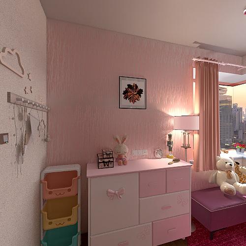 quartos aconchegante Interior Design Render