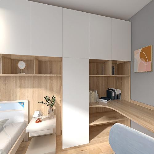 bedroom 14 Interior Design Render