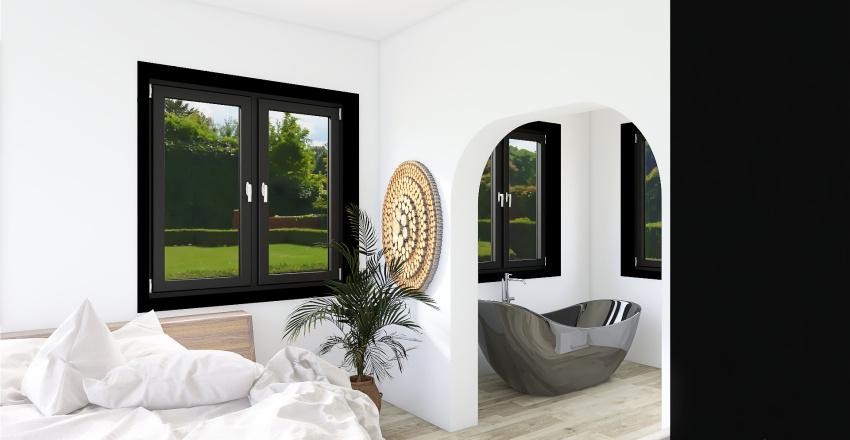 cozy modern home Interior Design Render