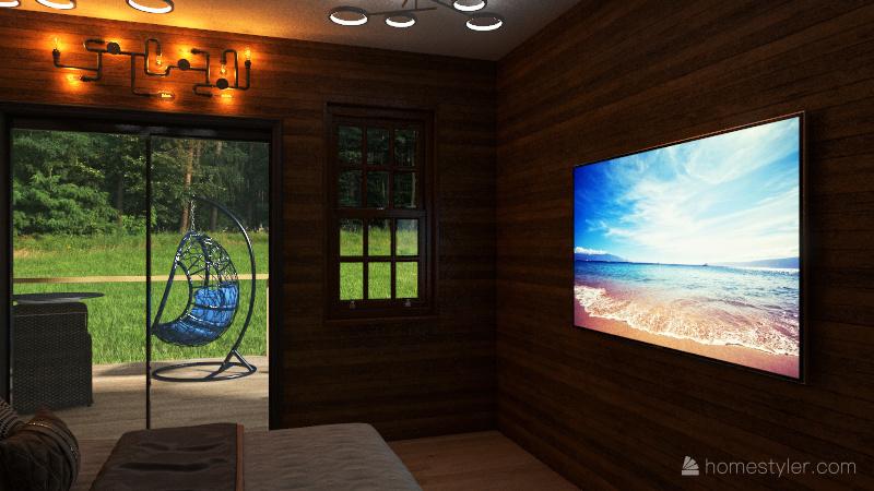 Guest hause Interior Design Render