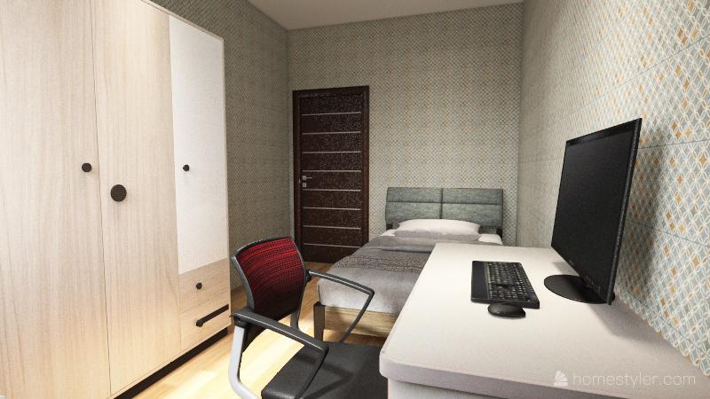 v2_Student project Interior Design Render
