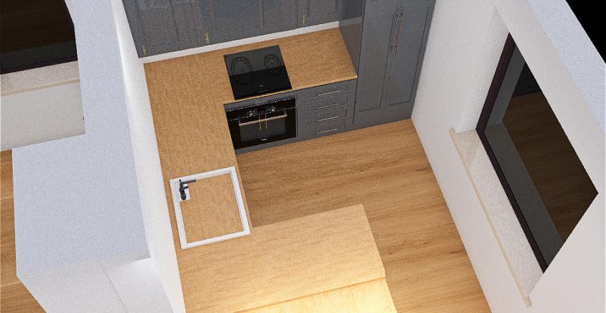 Lewkoniowa_kuchnia1 Interior Design Render