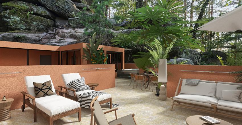 Hidden Paradise Interior Design Render