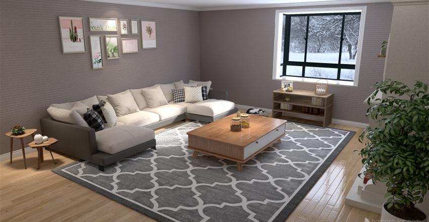 First house using new update Interior Design Render