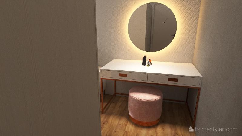 Bedroom Mixte Interior Design Render
