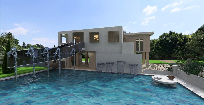 villa verde Interior Design Render