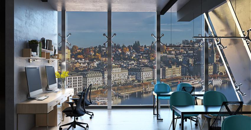 Oficina-Studio 17 Interior Design Render