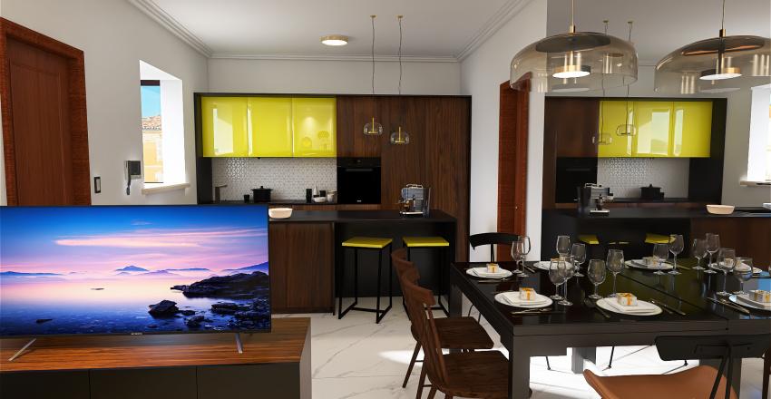 home302 Interior Design Render