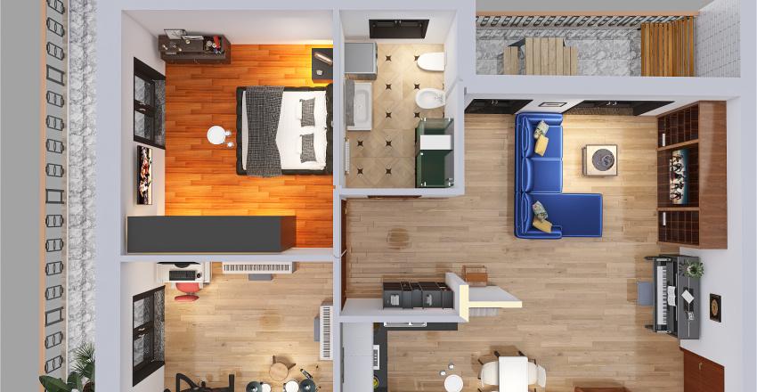 Mezzoldo Interior Design Render